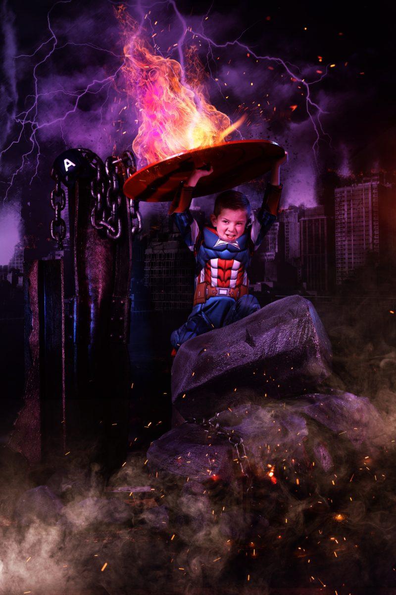 Capow Super Hero Potraits