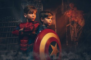 CAPOW Superhero Shoots