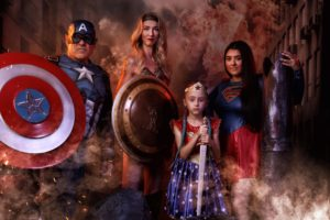 Family of Superheroes
