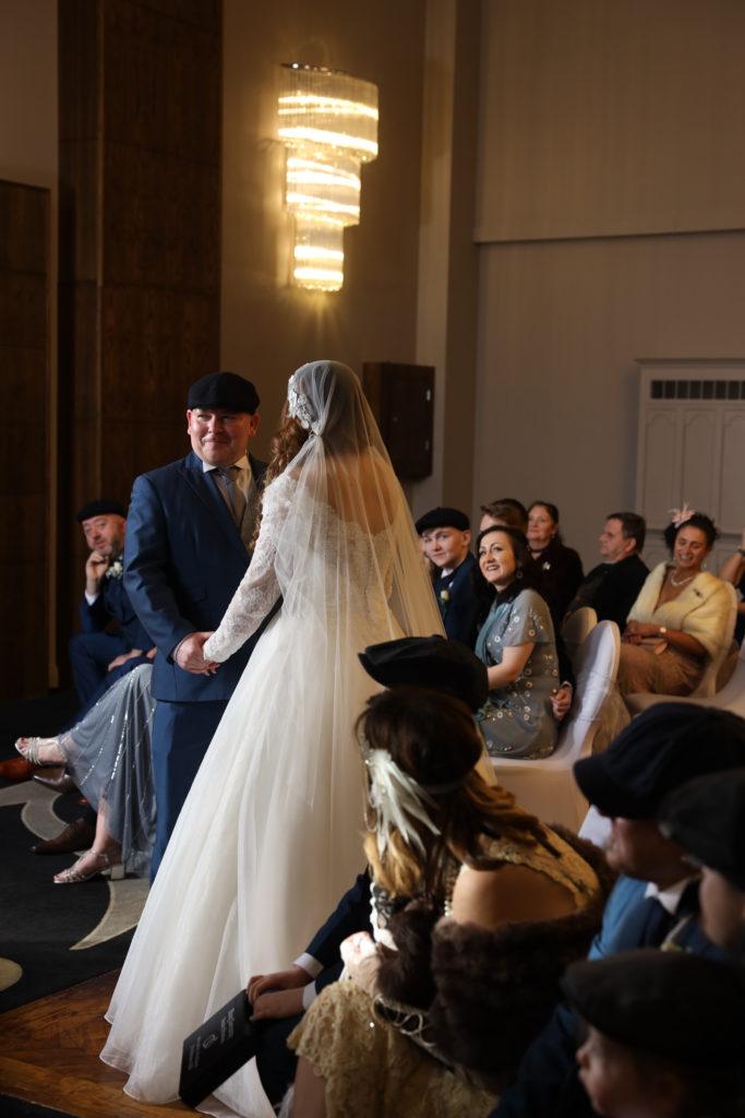Wedding Peaky Blinders theme photoshoot week